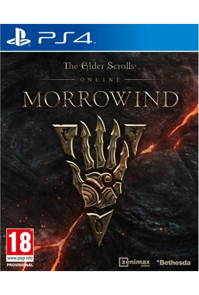The Elder Scrolls Online Morrowind PS4 Oyun