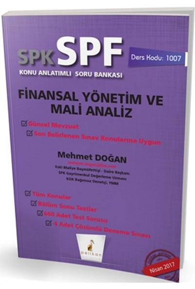 SPK - SPF Finansal Yönetim ve Mali Analiz Konu Anlatımlı Soru Bankası 1007