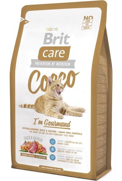 Brit Care Yetişkin Ördekli Ve Somonlu Tahılsız Kedi Maması 7Kg