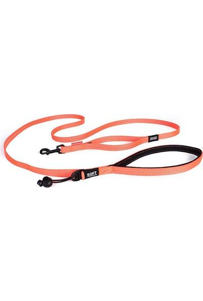 Ezydog Leash Trainer Soft Lite Turuncu Köpek Gezdirme Kayışı