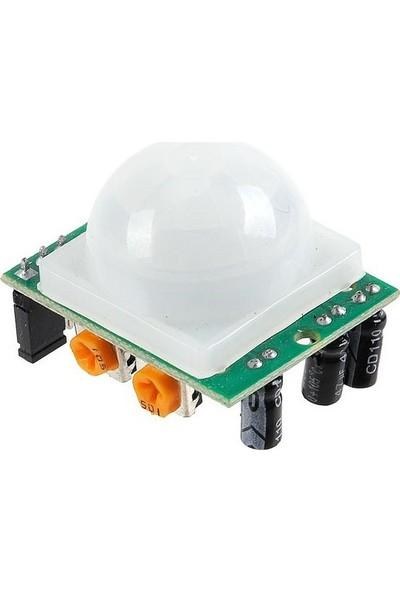 Robotzade HC-SR501 Ayarlanabilir Ir Hareket Algılama Sensörü - PIR Sensör