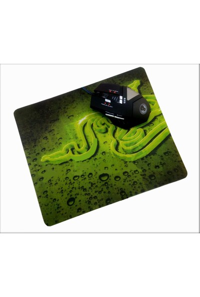 Versatile Gx 9 Usb Siyah Makrolu Oyuncu Mouse + Mouse Pad