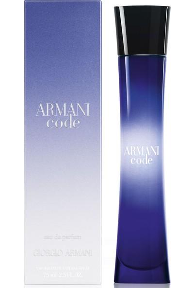 Giorgio Armani Code Edp 75 Ml Kadın Parfümü