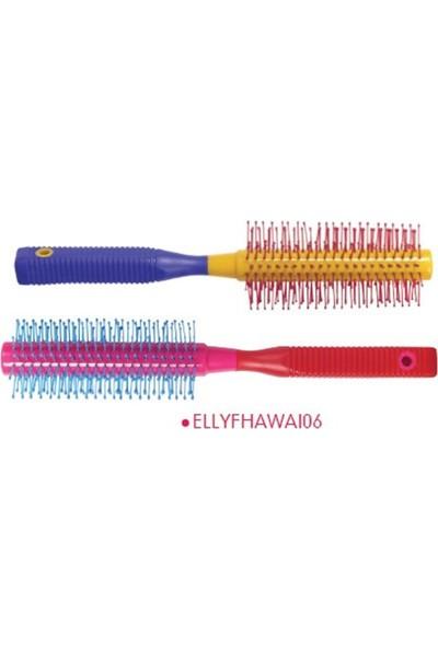 Elly Renkli Saç Fırçası Fhawaı06