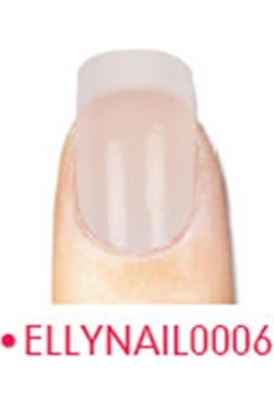 Elly Takma Tırnak Doğal 24 Lü French Nail0006
