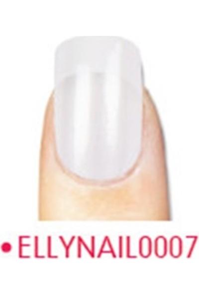 Elly Takma Tırnak Doğal 24 Lü French Nail0007