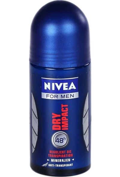 Nivea Dry Impact Erkek Roll On 50 Ml