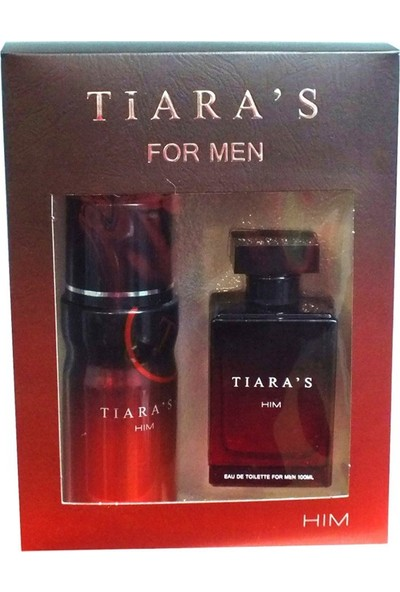 Tiara'S For Hım Erkek Parfüm+Deodorant Set