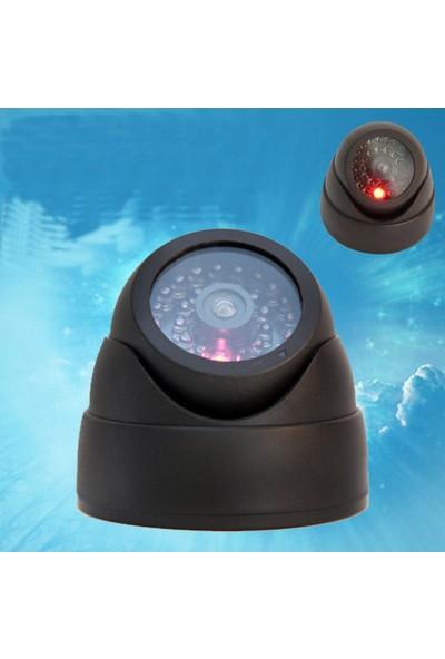 Clifton Sahte Kamera Ledli 360 Oynar Başlıklı Dome