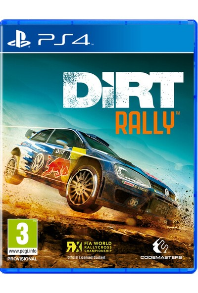 Dirt Rally Ps4 Oyun