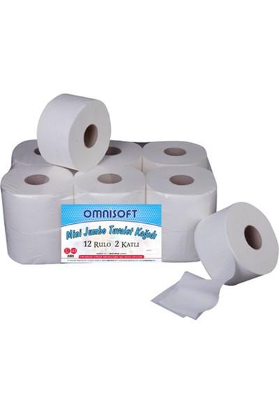 Omnisoft Mini Jumbo Tuvalet Kağıdı 12'li
