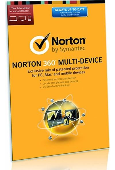 Norton 360 Multi-Device 1 Yıl 3 Cihaz