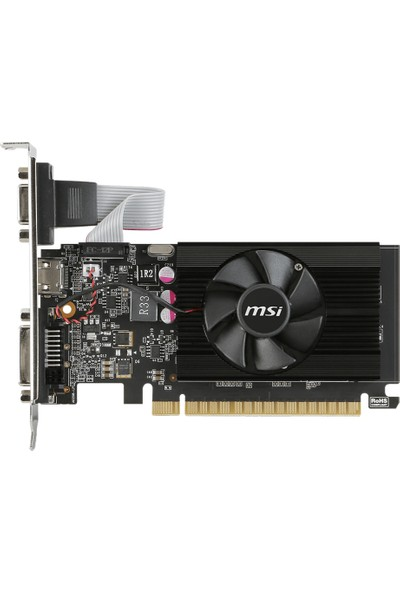 MSI NVIDIA GeForce GT 710 1GD3 LP 1GB 64 bit DDR3 DX(12) PCI-E 3.0 Ekran Kartı (GT 710 1GD3 LP)