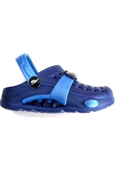 Hobi Store Kramponlu Deniz Ayakkabısı Lacivert-Mavi