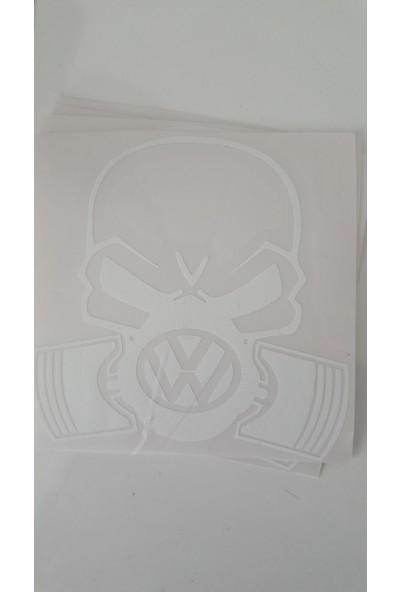Smoke Piston Kafa Wolksvagen Beyaz