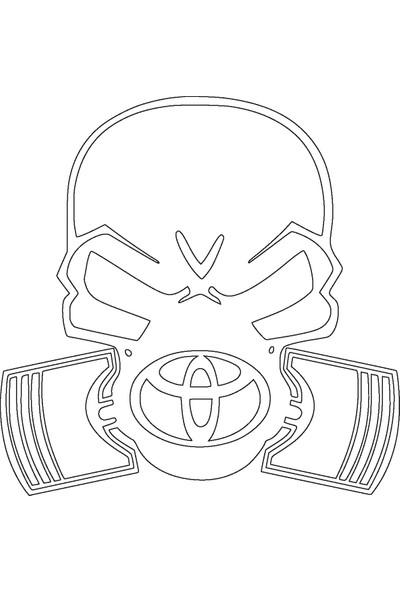 Smoke Piston Kafa Toyota Beyaz