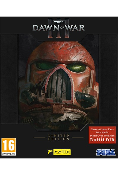 Dawn Of War III Limited Edition PC