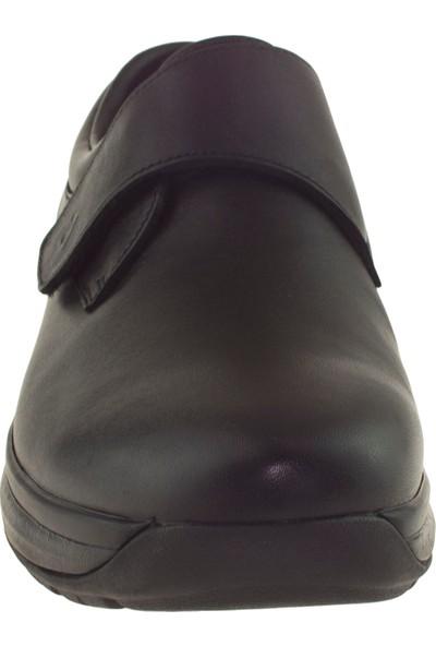 Joya Edward Ortopedik Siyah Erkek Ayakkabı