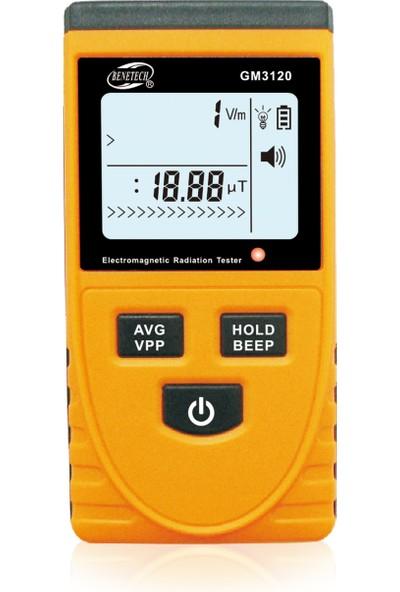 Benetech Gm3120 Elektromanyetik Alan Radyasyon Ölçer