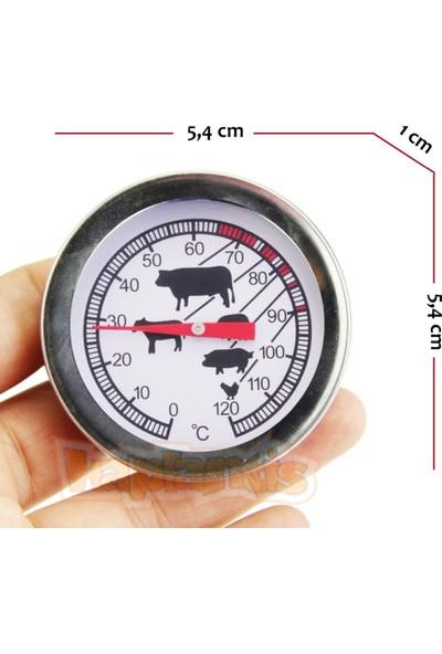 Aek-Tech Aek-Tech Mekanik Saplamalı Paslanmaz Gıda Termometresi