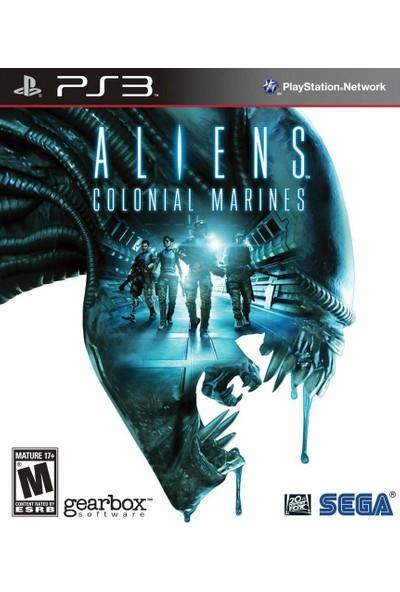 Aliens colonial marines ex. Ed. Ps3