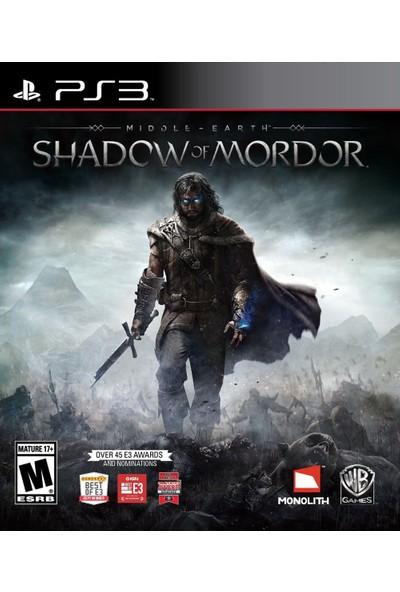 Shadow Mordor Ps3
