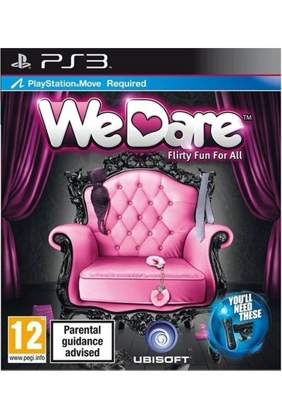 We Dare Flirty For Fun Ps3