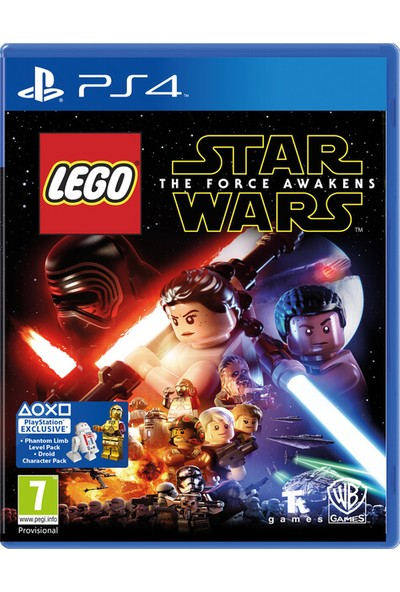 LEGO Star Wars The Force Awekens PS4