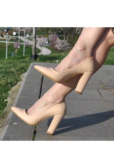 SotheMAS-023Kalın Topuklu Bayan Stiletto Ayakkabı
