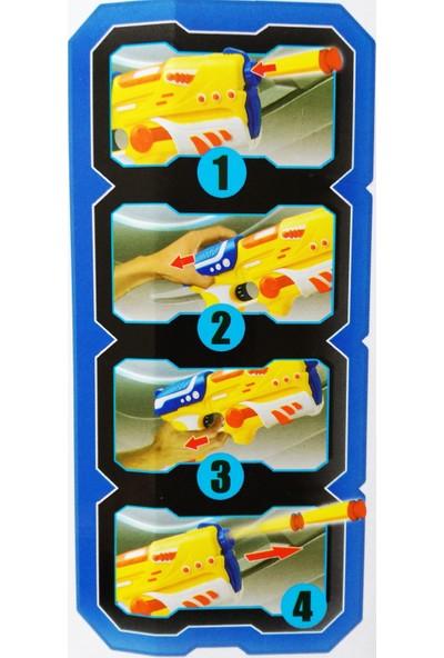 Mega Oyuncak Süper Kahraman Maske,Tabanca Ve Dart Aksesuarlı Oyun Set - 2 Renk
