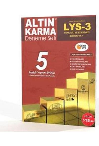 Altın Karma LYS 3 - (5 Farklı Yayın 5 Farklı Deneme)