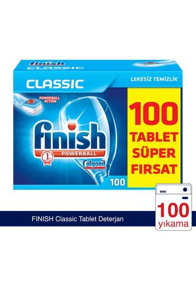 Finish Classic 100 Tablet Bulaşık Makinesi Deterjanı