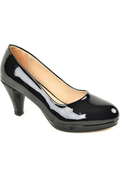 Büşracan ZN Yarı Platform Rugan Bayan Ayakkabı