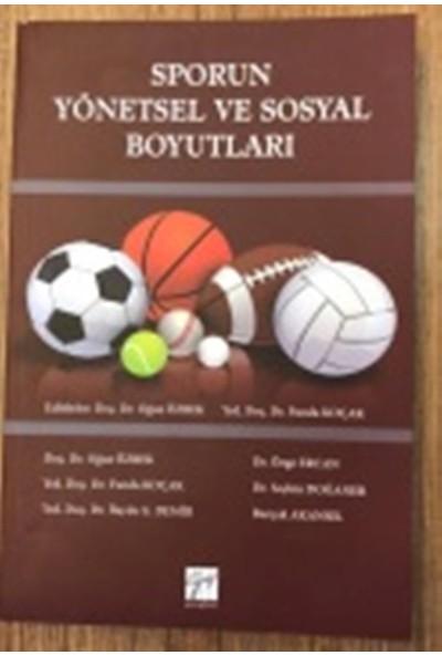 Sporun Yönetsel ve Sosyal Boyutları