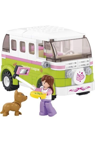 Sluban Girl's Dream Karavan 158 Parça