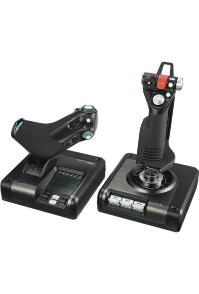 Logitech G PC X52 Pro Flight Kontrol Sistem