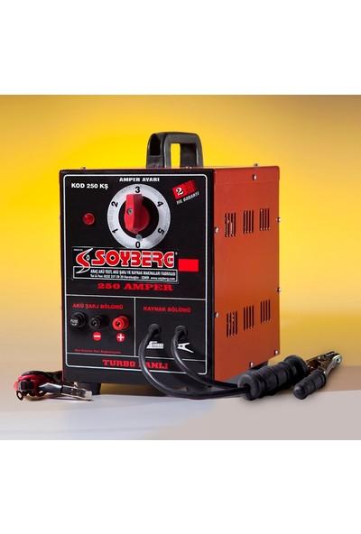Soyberg 250 Kş Şarjlı Çanta Kaynak Makinası