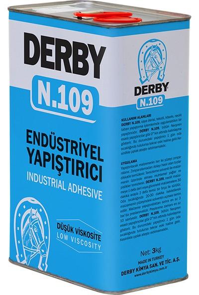 Derby Yapıştırıcı N.109 Teneke 3 Kg