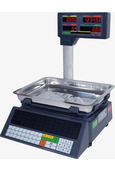 Hs-8600 30 Kg Fiyat Hesaplamalı Boyunlu Led