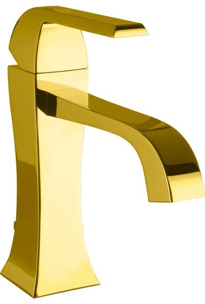 Porcelanosa-Noken Dune Lavabo Bataryası - Altın Renk