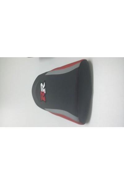 Dot Cycle Honda CBR 250 RR Siyah/Kırmızı/Gri 2010/2013 Modellere Uyumlu Gerçek Deri Koltuk Kılıfı Takımı