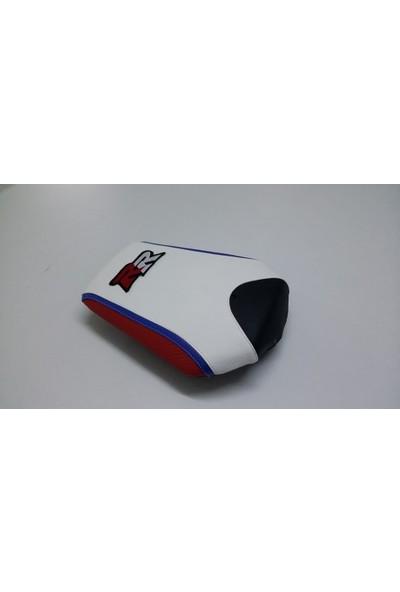 Dot Cycle Honda CBR 1000 RR Siyah/Beyaz/Kırmızı/Mavi 2008/2014 Modellere Uyumlu Gerçek Deri Koltuk Kılıfı Takımı
