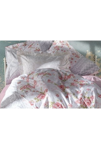 Soley Uyku Seti Çift Kişilik Ela Nar Çiçeği