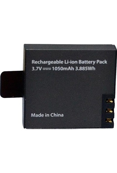Eken H9R H9 W9 Yedek Batarya PG1050 1050 mAh 3.885Wh Pil