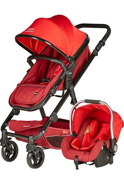 Baby2go Venüs Travel Sister Bebek Arabası Kırmızı