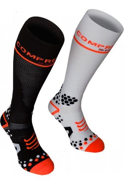 Compressport Çorap Siyah