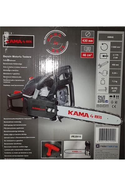 Kama ByReis KMR46 2,0 kW - 2,7 Hp Benzinli Ağaç Kesme Motoru