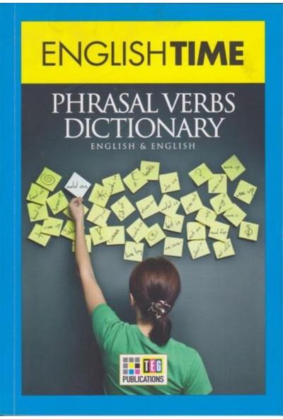 English Time Phrasal Verbs Dictionary English Turkish Turkish English