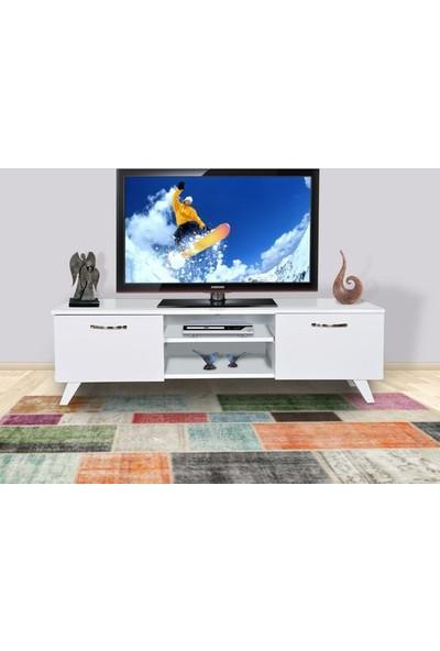 Hepsi Home Tv Sehpası - Tv Ünitesi Beyaz