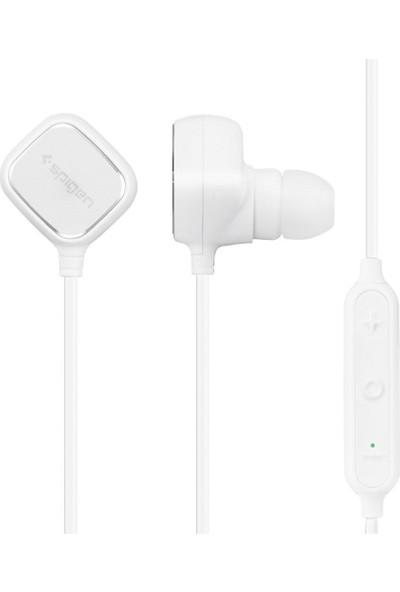 Spigen R32E Stereo Kablosuz Bluetooth 4.1 Mikrofonlu Kulaklık Beyaz - 000EH21017